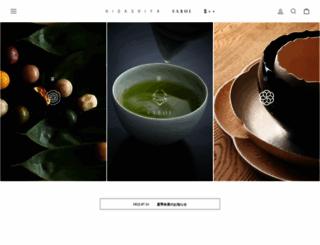 higashiya-shop.com screenshot