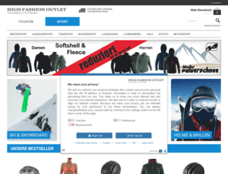 high-fashion-outlet.de screenshot