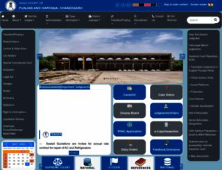 highcourtchd.gov.in screenshot