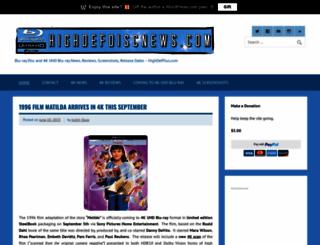 highdefdiscnews.com screenshot
