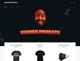 higher-primate.com screenshot