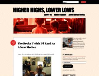 higherhighslowerlows.com screenshot