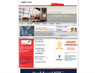 highflytravel.com screenshot