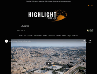 highlight-films.myshopify.com screenshot