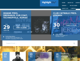 highlightcity.com screenshot