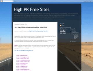 highprlisting.blogspot.in screenshot