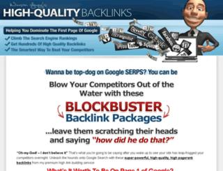 highqualitybacklinks.com screenshot