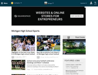 highschoolsports.mlive.com screenshot