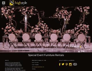 highstylerentals.com screenshot