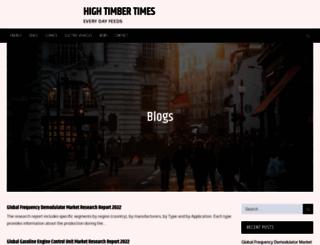 hightimbertimes.com screenshot