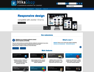 hikashop.com screenshot