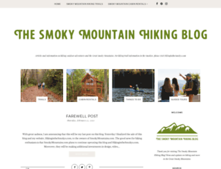 hikinginthesmokys.blogspot.com screenshot