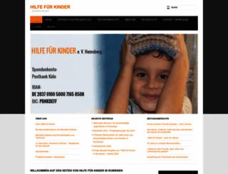 hilfe-fuer-kinder.de screenshot
