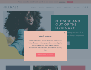 hilldale.com screenshot