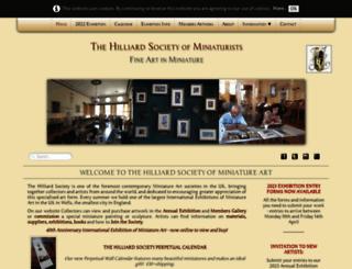 hilliardsociety.org screenshot