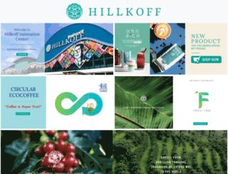 hillkoff.com screenshot