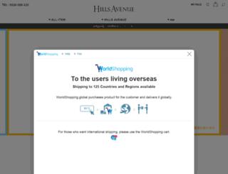 hillsavenue.com screenshot