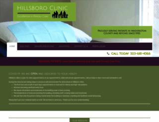 hillsboroclinic.com screenshot