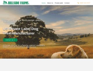 hillside-farms.com screenshot
