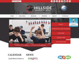 hillside.northvilleschools.org screenshot
