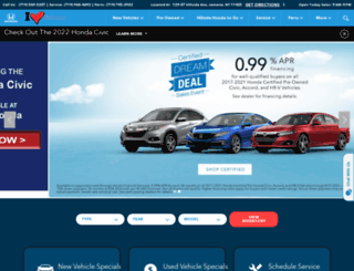 hillsidehonda.com screenshot