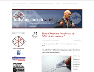 hillsongchurchwatch.com screenshot