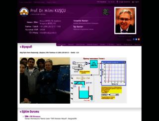 hilmi.trakya.edu.tr screenshot