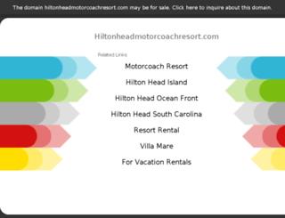 hiltonheadmotorcoachresort.com screenshot