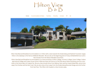 hiltonview.co.za screenshot