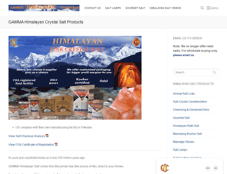 himalayansalt.com screenshot