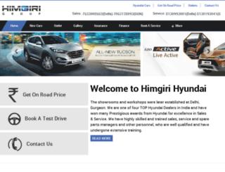 himgiricars.com screenshot
