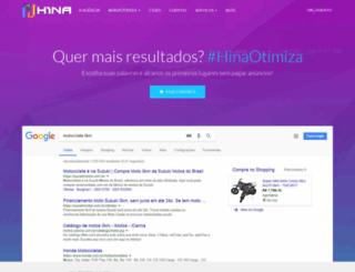 hina.com.br screenshot