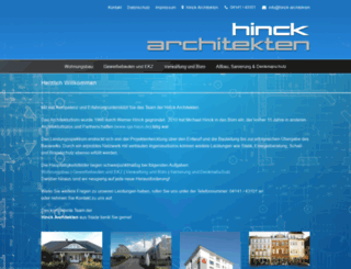 hinck-architekten.de screenshot