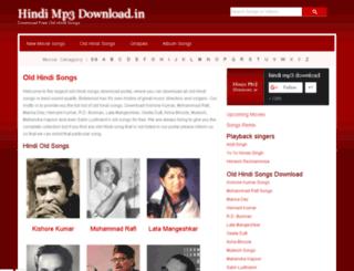 hindimp3download.net screenshot