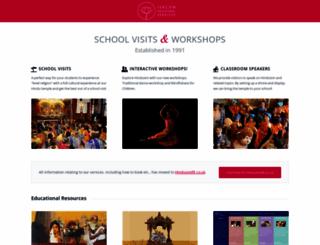 hinduism.iskcon.org screenshot