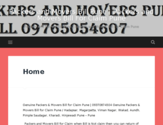 hinjewadipackersandmovers.co.in screenshot