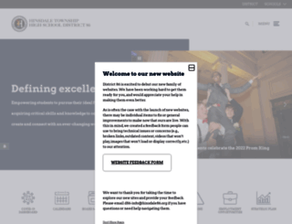 hinsdale86.org screenshot