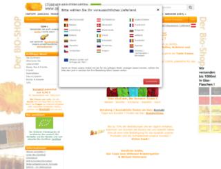 hinterauer.info screenshot