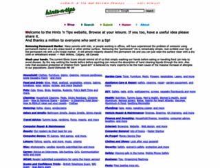 hints-n-tips.com screenshot