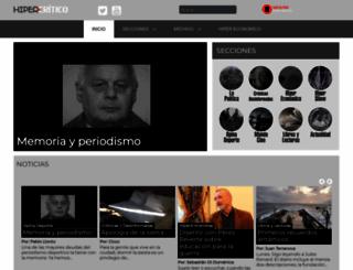hipercritico.com screenshot