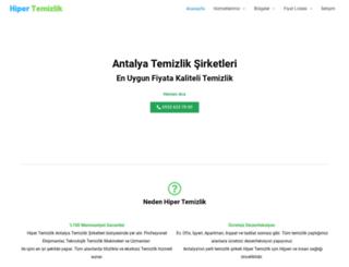 hipertemizlik.com screenshot