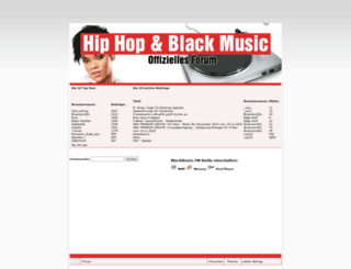 hiphop-blackmusic.de screenshot