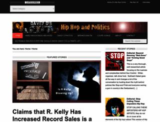 hiphopandpolitics.com screenshot