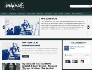 hiphopkultur.com screenshot