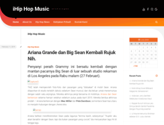 hiphopmusicdotcom.com screenshot
