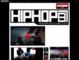 hiphopsince1987.com screenshot