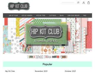 hipkitclub.net screenshot