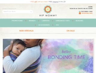 hipmommy.com screenshot