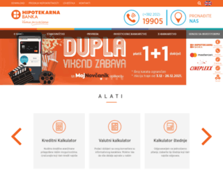 hipotekarnabanka.com screenshot