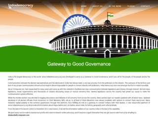 hiraju.indiademocracy.org screenshot